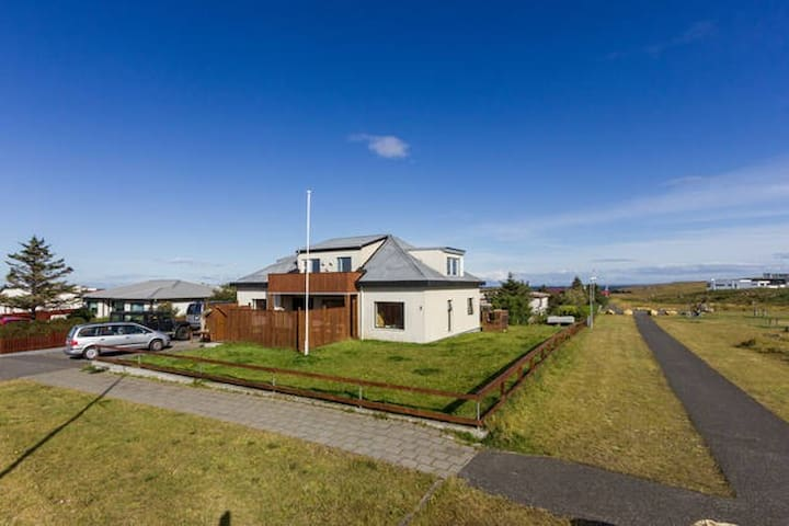 4 Near the airport and Blue Lagoon  - Shared room - Reykjanesbær - Apartemen