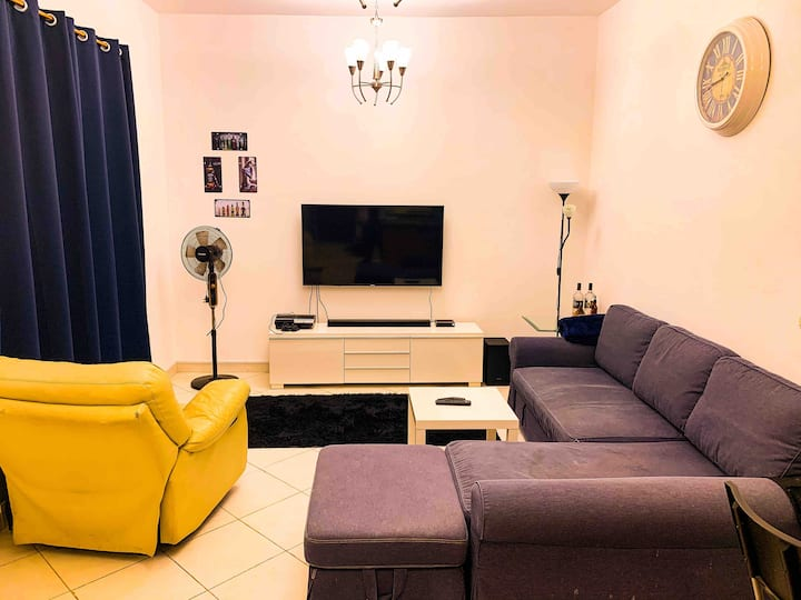 Beautiful, comfortable 1 BHK In the heart of Dubai