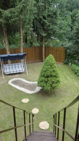 Nysa Apartament dla 6 os. śródmieście - ogród!