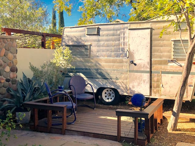Clementine, the Vintage Trailer
