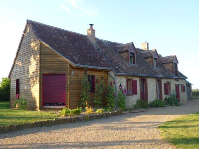 Belle maison de caractère à 15 min du Mans - Souligné-Flacé - Dům
