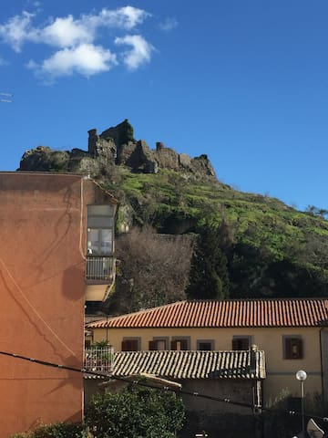 Rocca degli Orsini, vista appartamento.