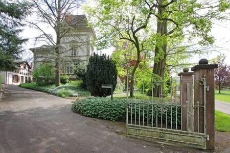 Nostalgie pur: Wohnen in einer Jugendstil-Villa - Gengenbach - Apartamento