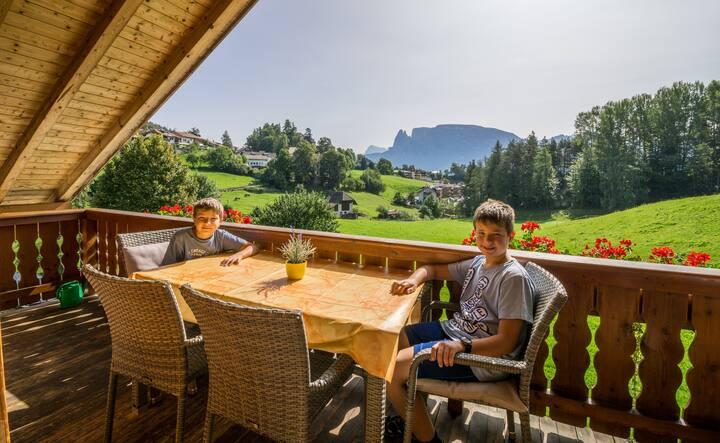 Wohnung in den Dolomiten 12 km von Bozen entfernt