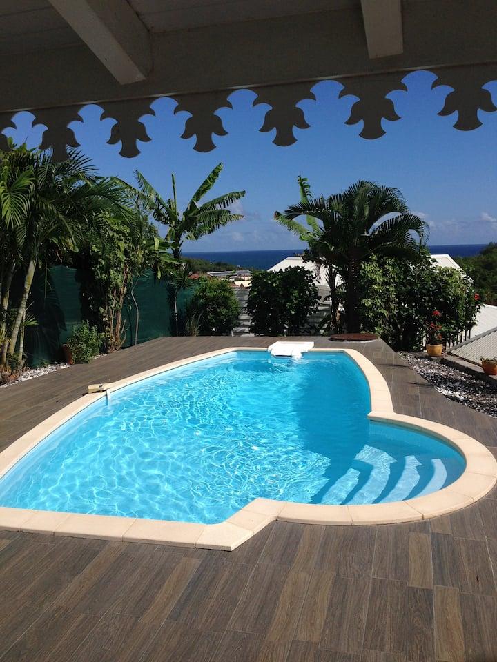 Villa SAMA tout confort clim 4ch avec piscine