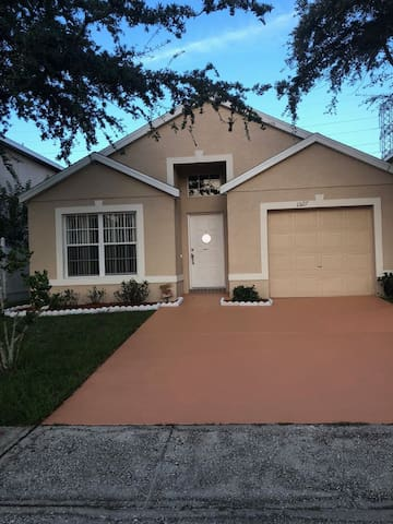 Wonderful house from Orlando airport 15 minutes