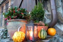 Late November porch