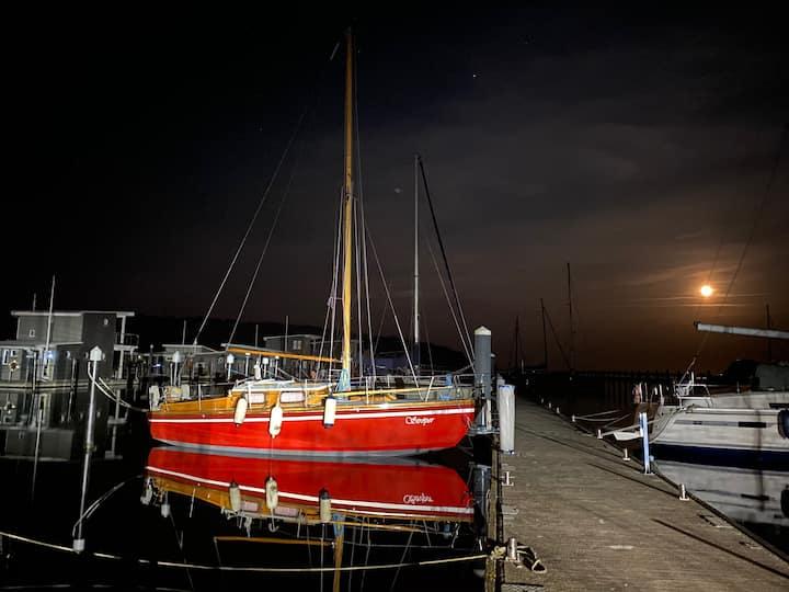 Segelboot - Kojen auf Rügen,  Wassercamping