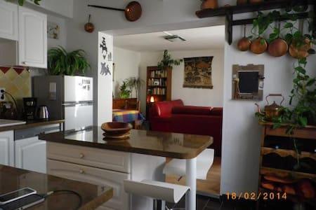 Maison de village climatisée + terrasse de 25 m2 - Villeneuve-lès-Béziers