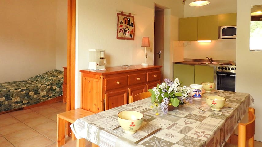 Appartement cosy - Villarodin-Bourget - Apartment