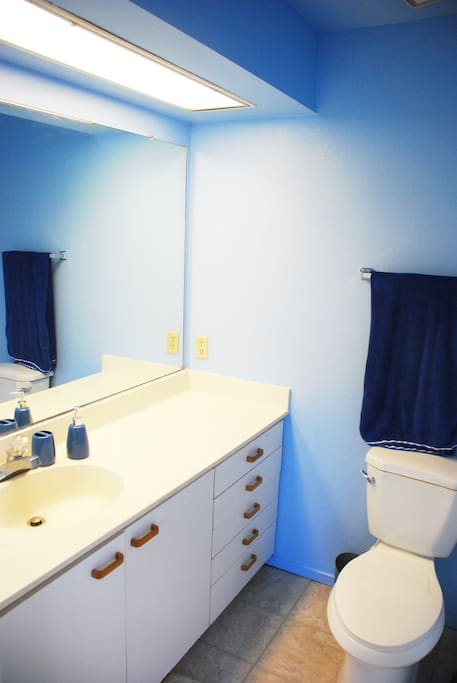private bathroom attached to your bedroom