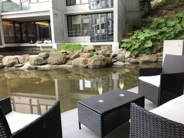 #102◆テラス付◆週割・月割◆小樽運河まで徒歩圏◆駐車場無料‼