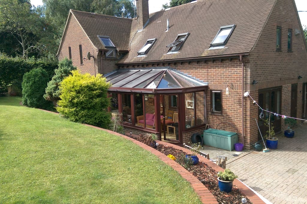Garden, patio and conservatory