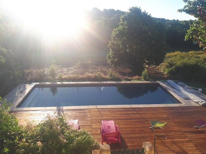 Le Mas du Golf D'Aix : 4 bedrooms villa and pool