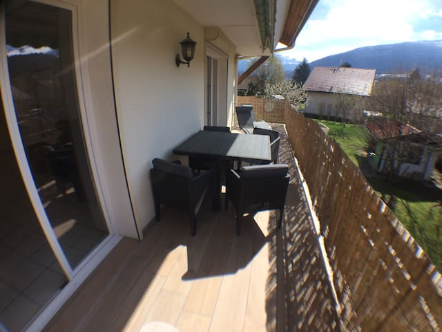 balcon terrasse privée