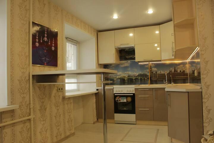 Квартира в центре Ярославля с одной спальной