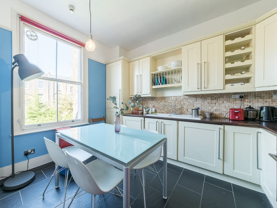 Modern & well equipped kitchen