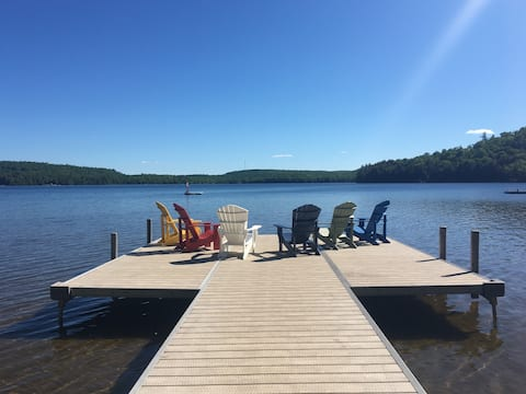 Grass Lake Cottage Getaway -Private lakefront