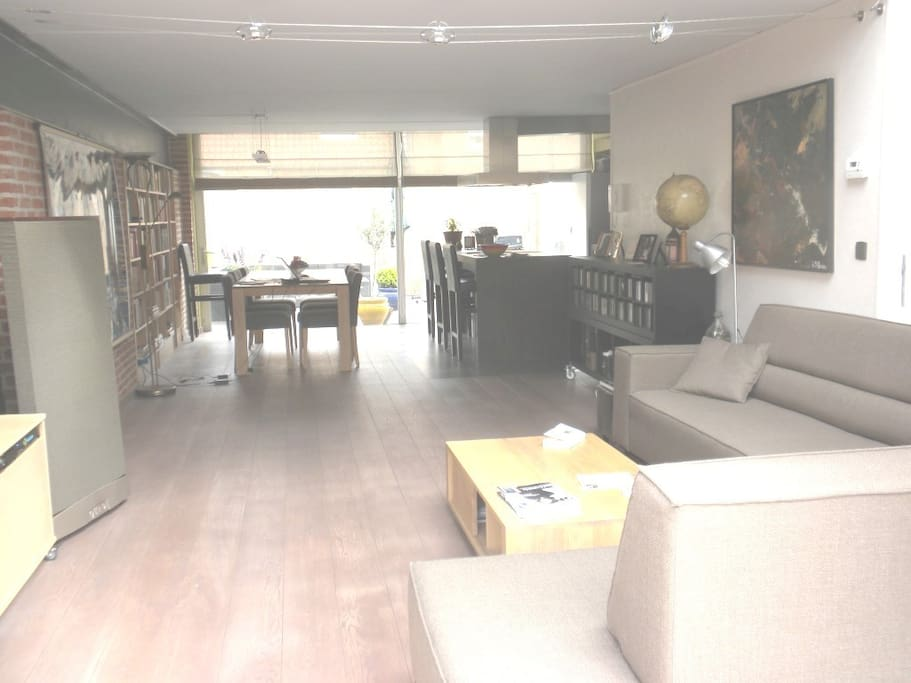 60m² very large large living room