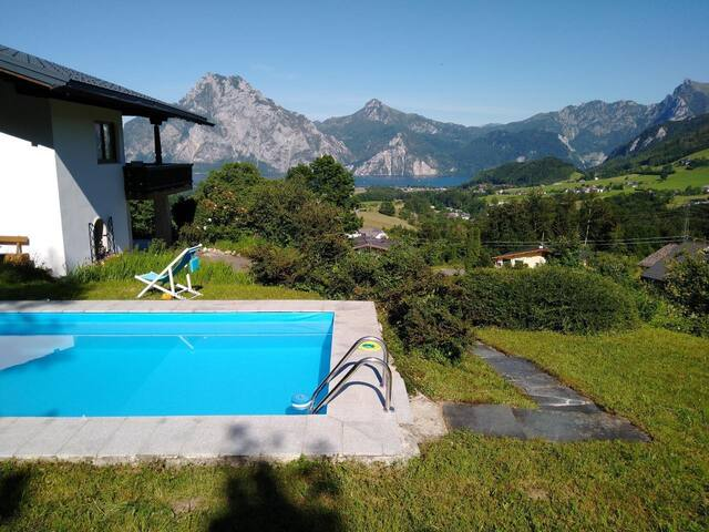 Cottage View Lake Traunsee