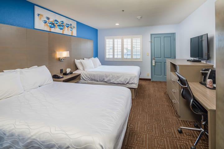 Silicon Valley Inn, 2 Double Beds
