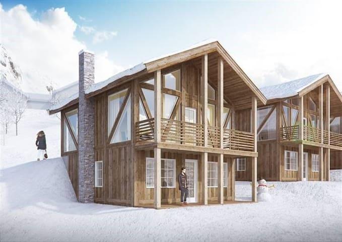HYTTE på Hovden, ski inn/ski ut - Bykle - Cabaña