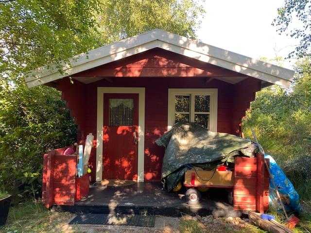 Hytte for to i fantastisk natur tæt på Skagen