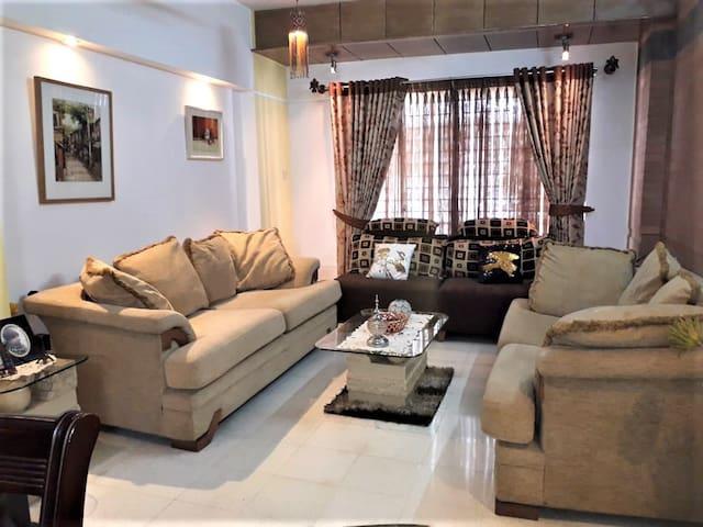 Full Furnished Apartment at Bashundhara R/A ,Dhaka