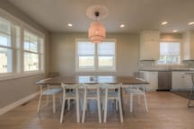 Large Dining Table, seating for all!