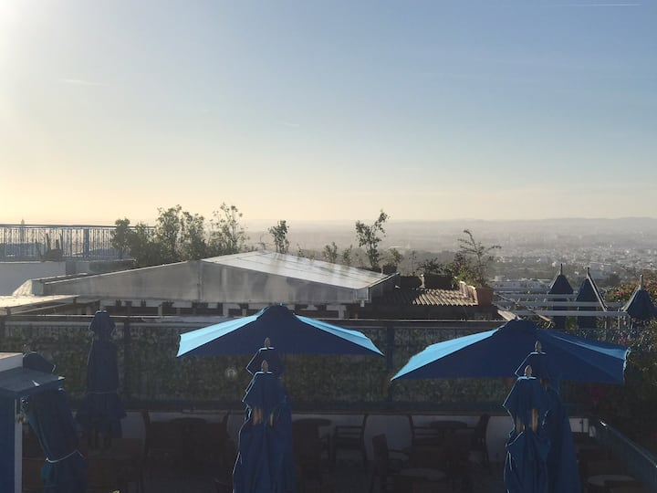 Appartement haut de Sidi bou said avec vue sublime