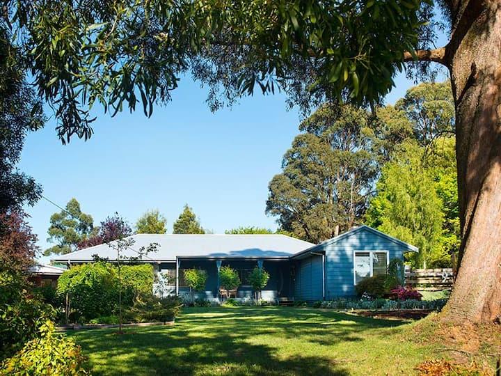 Peppermint Blue House
