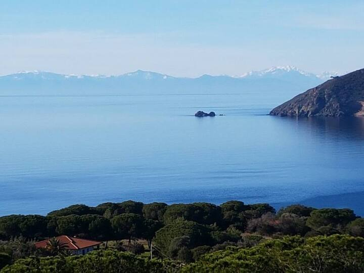 Elba  - Casa vista Mare meravigliosa
