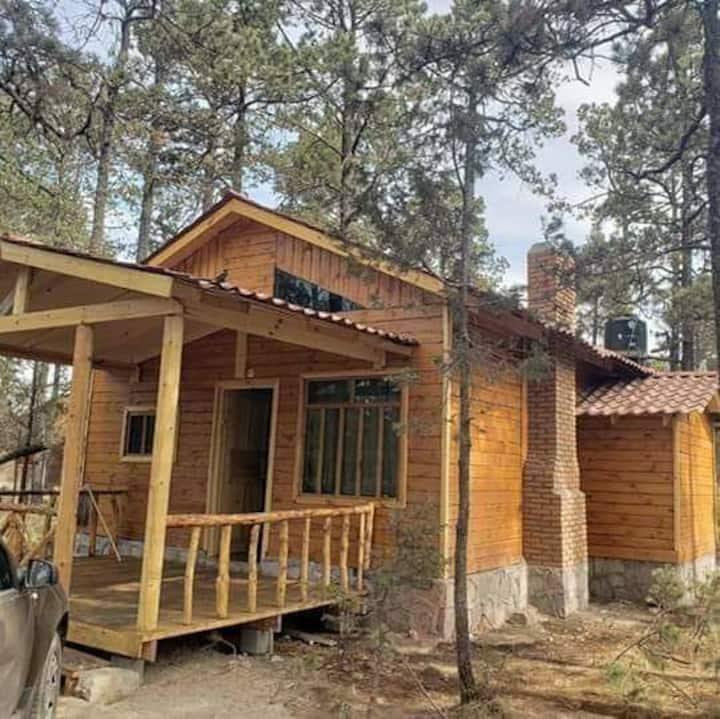 """""""Cabaña Montana"""" en Mexiquillo, Durango"""