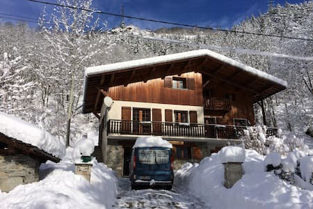 Luxury Chalet in the French Alps - Lomamökki