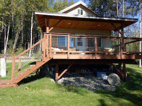 Lakefront cabin on Nancy Lake