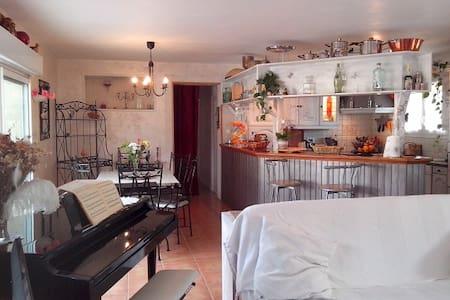 Maison agréable et calme, 2 chambres tout confort - Prigonrieux - Casa