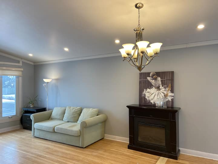 15 min from DT Montreal, driveway Parking,No.2room