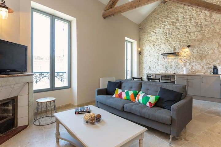 Charming & cosy 2 bedrooms apartment city center