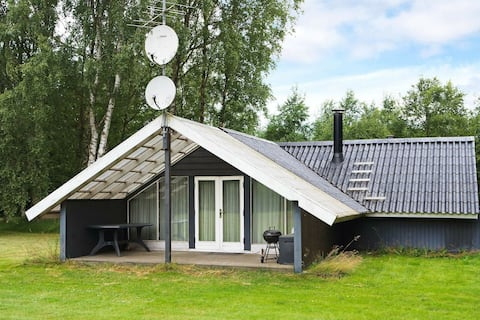 Luxurious Holiday Home in Hadsund with Terrace