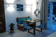 Casita Acacia.. A blue dream Ballenas beach