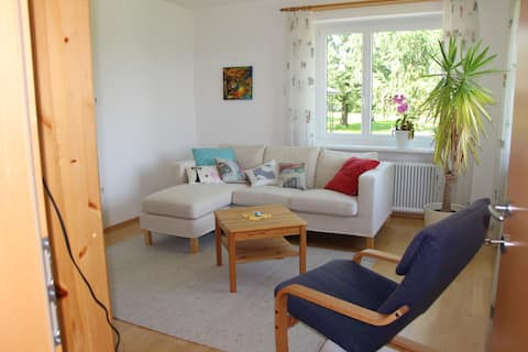 Spacy apartment near the Danube Valley