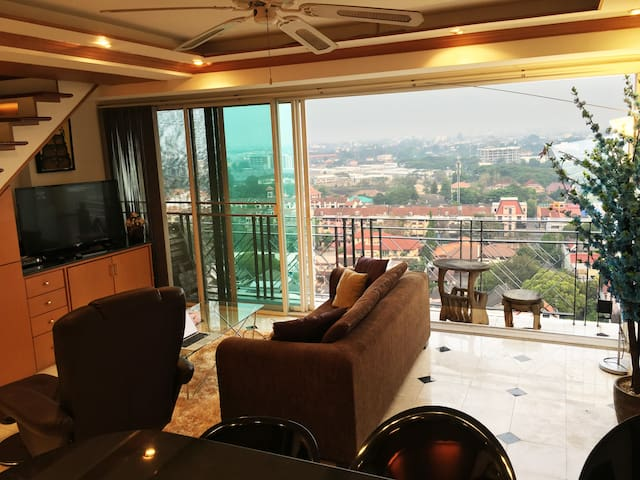 ★2BR Penthouse with Mountain View★ - Chang Khlan - Apartamento