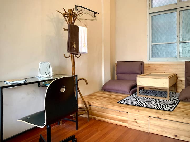 宿影 - 賓士貓 - 巷弄中的畫廊 - 雙人床房