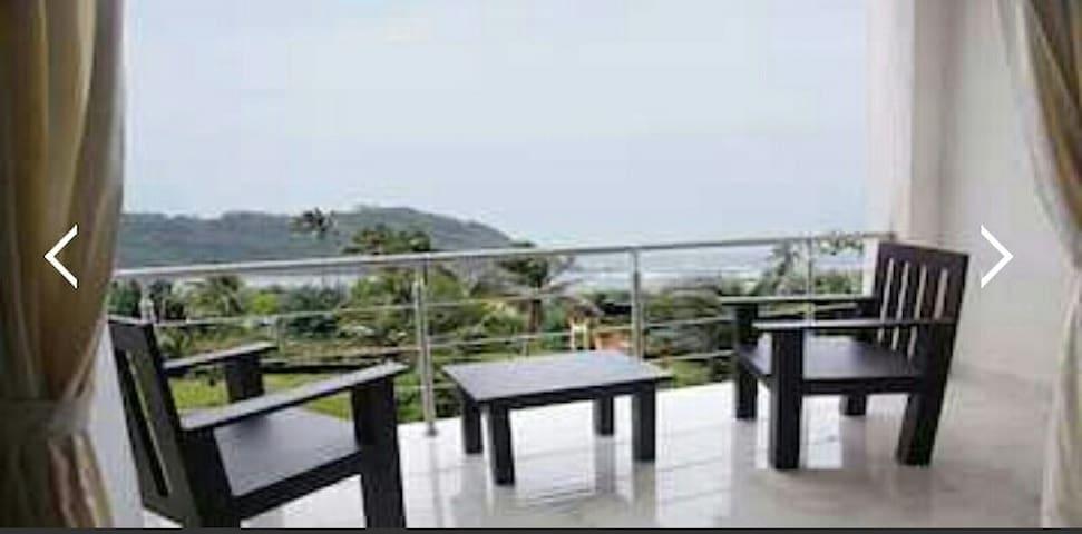 Seaview Room with pool on Morjim beach