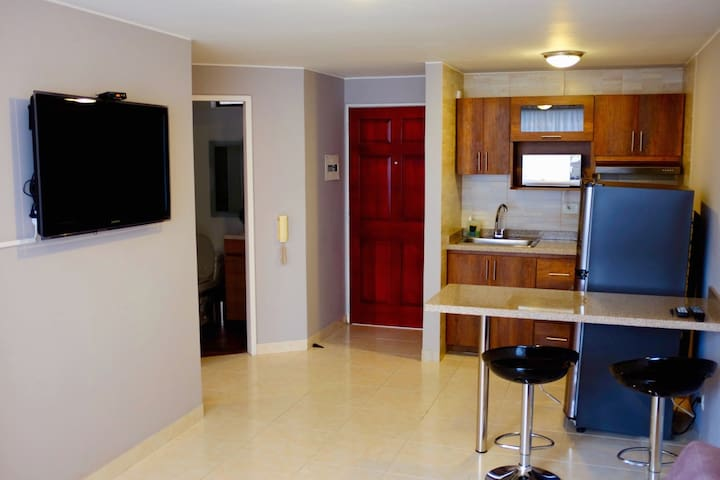 Cute 1-bed in Peñon with A/C, WIFI and hot water. - Cali - Pis