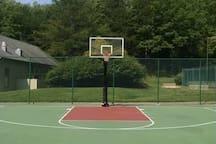 Resort's basketball court