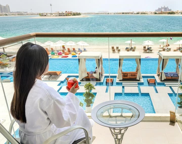burj al arab, wild wadi, Atlantis Waterpark