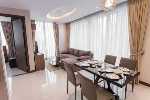 Spacious modern apartment 2 bedroom in ToulKok