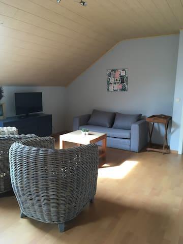 Ruim, rustig appartement bij Brugge, Gent, Kust