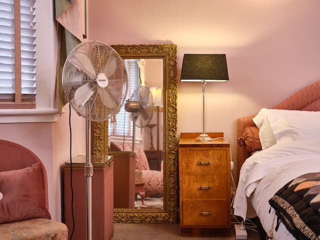 Full length mirror, fan, choice of storage and lighting